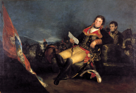 Picture no: 30009895 Manuel Godoy in the Field / Goya Created by: Goya, Francisco de