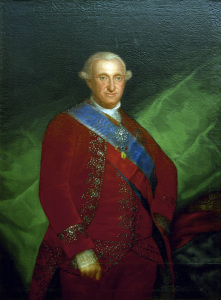 Picture no: 30009915 Charles IV of Spain / Paint.by Goya Created by: Goya, Francisco de
