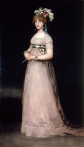 Picture no: 30009917 Countess of Chinchón / Goya /c.1797/1802 Created by: Goya, Francisco de