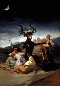 Picture no: 30009923 F.de Goya / The Witches' Sabbath Created by: Goya, Francisco de