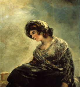 Picture no: 30009949 Milkmaid of Bordeaux / Goya / 1827-28 Created by: Goya, Francisco de