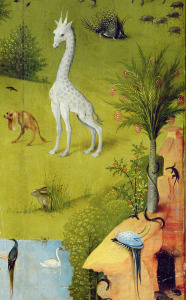 Picture no: 31000083 The Garden of Earthly Delights, c.1500 Created by: Bosch, Hieronymus