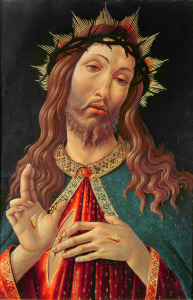 Picture no: 31000102 Ecce Homo, or The Redeemer, c.1474 Created by: Botticelli, Sandro