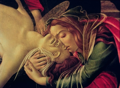 Picture no: 31000105 The Lamentation of Christ, c.1490 Created by: Botticelli, Sandro