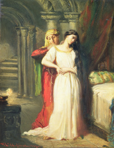 Picture no: 31000195 Desdemona Retiring to her Bed, 1849 Created by: Chasseriau, Theodore
