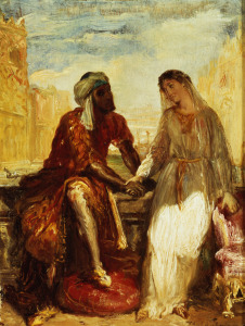 Picture no: 31000201 Othello and Desdemona in Venice, 1850 Created by: Chasseriau, Theodore