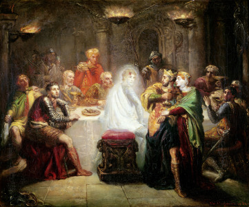 Picture no: 31000211 The Ghost of Banquo Created by: Chasseriau, Theodore