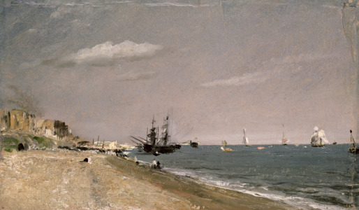 Picture no: 31000223 Brighton Beach with colliers, 1824 Created by: Constable, John