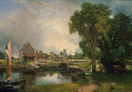Picture no: 31000224 Dedham Lock and Mill, 1820 Created by: Constable, John