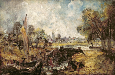 Picture no: 31000225 Dedham Lock, c.1820 Created by: Constable, John