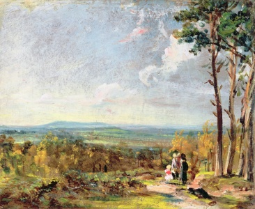 Picture no: 31000230 Hampstead Heath Looking Towards Harrow, 1821 Created by: Constable, John