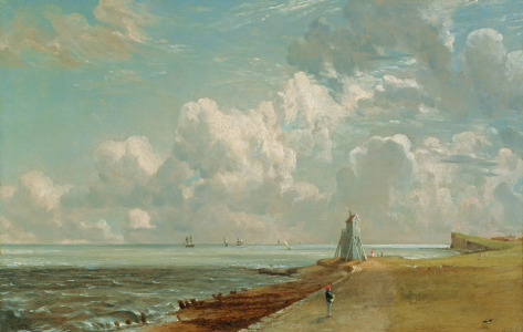 Picture no: 31000234 Harwich, The Low Lighthouse and Beacon Hill, c.1820 Created by: Constable, John