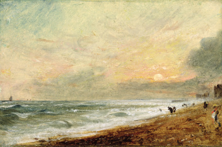 Picture no: 31000235 Hove Beach, c.1824 Created by: Constable, John