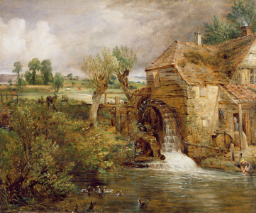 Picture no: 31000236 Mill at Gillingham, Dorset, 1825-26 Created by: Constable, John