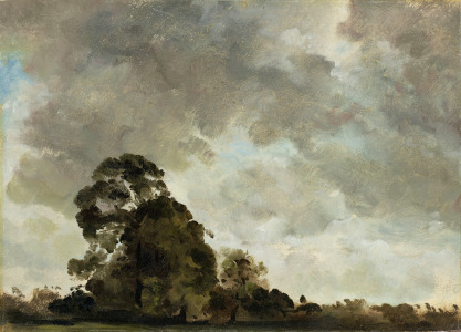 Picture no: 31000238 Landscape at Hampstead, Tree and Storm Clouds, c.1821 Created by: Constable, John