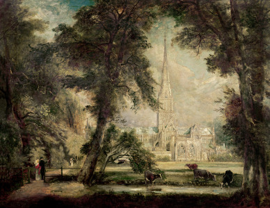 Picture no: 31000240 Salisbury Cathedral from the Bishop's Grounds, c.1822-23 Created by: Constable, John