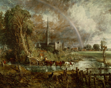 Picture no: 31000243 Salisbury Cathedral From the Meadows, 1831 Created by: Constable, John