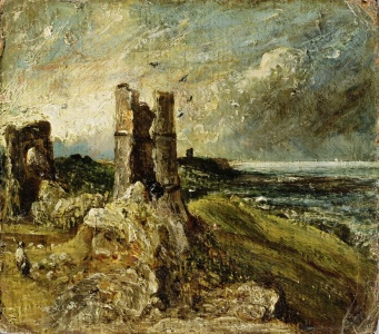 Picture no: 31000244 Sketch of Hadleigh Castle Created by: Constable, John