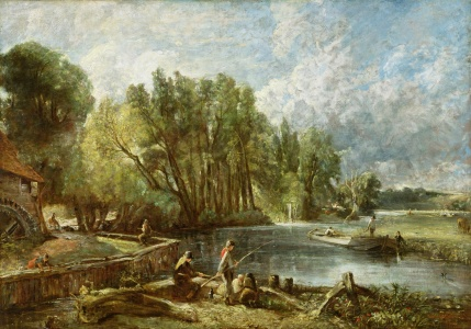Picture no: 31000252 The Young Waltonians - Stratford Mill, c.1819-25 Created by: Constable, John
