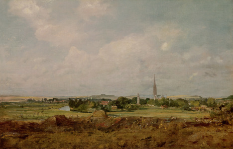 Picture no: 31000254 View of Salisbury Created by: Constable, John