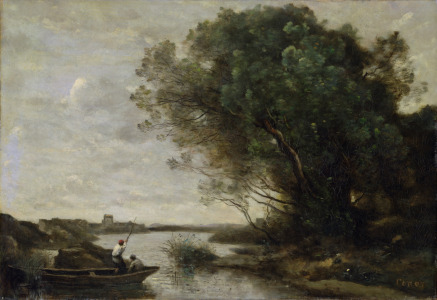 Picture no: 31000281 River Landscape Created by: Corot, Jean Baptiste Camille