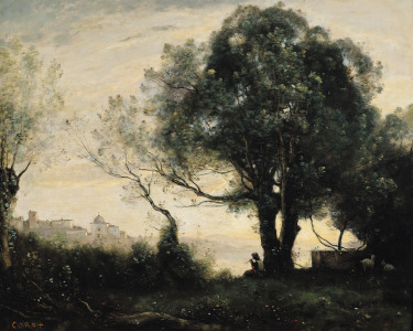 Picture no: 31000282 Souvenir of Castel Gandolfo Created by: Corot, Jean Baptiste Camille
