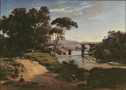 Picture no: 31000284 The Bridge at Narni, c.1826-27 Created by: Corot, Jean Baptiste Camille