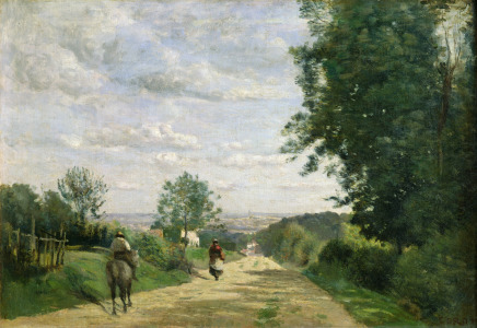 Picture no: 31000286 The Road to Sevres, 1858-59 Created by: Corot, Jean Baptiste Camille