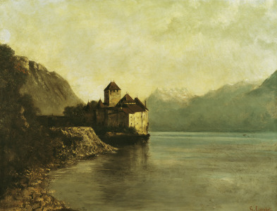 Picture no: 31000306 Chateau de Chillon, 1874 Created by: Courbet, Gustave
