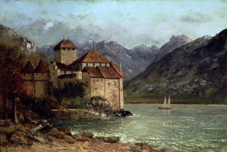 Picture no: 31000311 The Chateau de Chillon, 1875 Created by: Courbet, Gustave