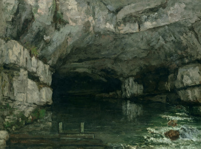 Picture no: 31000312 The Grotto of the Loue, 1864 Created by: Courbet, Gustave
