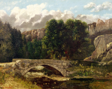 Picture no: 31000315 The Pont de Fleurie, Switzerland, 1873 Created by: Courbet, Gustave
