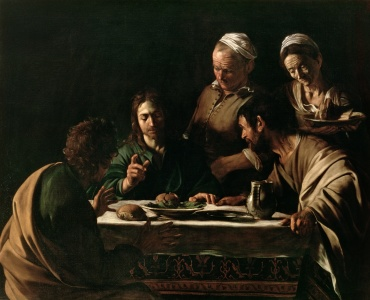Picture no: 31000325 Supper at Emmaus, 1606 Created by: da Caravaggio, Michelangelo Merisi