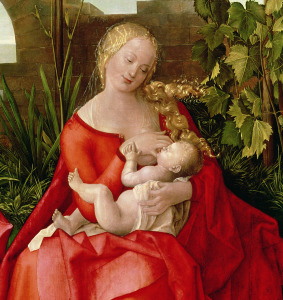 Picture no: 31000368 Virgin and Child 'Madonna with the Iris', 1508 Created by: Dürer, Albrecht