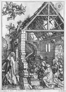 Picture no: 31000384 The Nativity, from the 'Life of the Virgin' series, c.1503 Created by: Dürer, Albrecht