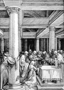 Picture no: 31000385 The Presentation in the Temple, c.1503/4 Created by: Dürer, Albrecht