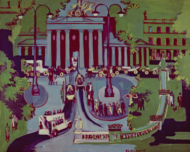 Picture no: 31000397 The Brandenburg Gate, Berlin, 1929 Created by: Ernst Ludwig Kirchner