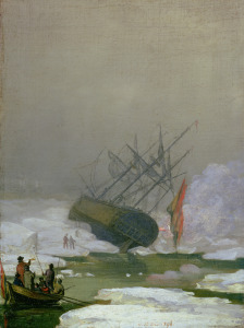 Picture no: 31000424 Ship in the Polar Sea, 12th December 1798 Created by: Friedrich, Caspar David