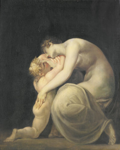 Picture no: 31000432 Tekemessa and Eurysakes, c.1800-10 Created by: Füssli, Johann Heinrich d.J.