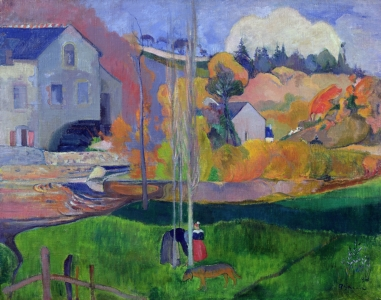 Picture no: 31000465 Brittany Landscape: the David Mill, 1894 Created by: Gauguin, Paul