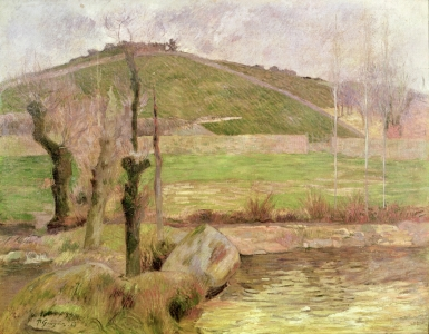 Picture no: 31000475 Landscape near Pont-Aven, 1888 Created by: Gauguin, Paul