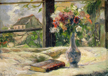 Picture no: 31000483 Vase of Flowers Created by: Gauguin, Paul
