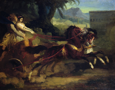 Picture no: 31000496 Ancient Chariot Race, after a painting by Carle Vernet Created by: Géricault, Théodore