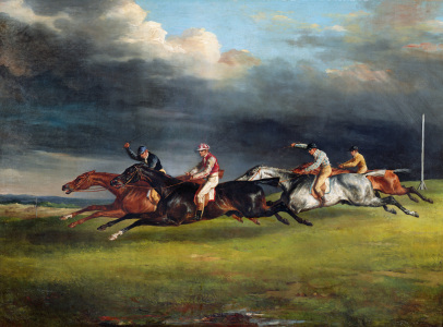 Picture no: 31000507 The Epsom Derby, 1821 Created by: Géricault, Théodore
