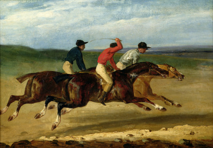 Picture no: 31000508 The Horse Race Created by: Géricault, Théodore