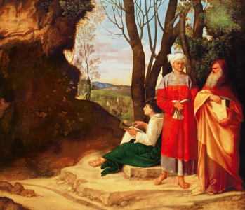 Picture no: 31000517 The Three Philosophers Created by: Giorgione (Giorgio da Castelfranco | Barbarelli)