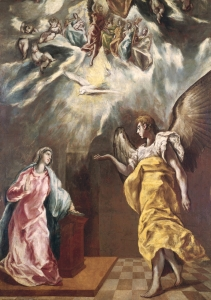 Picture no: 31000594 The Annunciation Created by: Greco, El (Domenikos Theotokopoulos)
