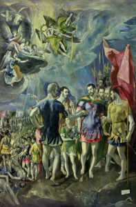 Picture no: 31000596 The Martyrdom of St. Maurice, 1580-83 Created by: Greco, El (Domenikos Theotokopoulos)