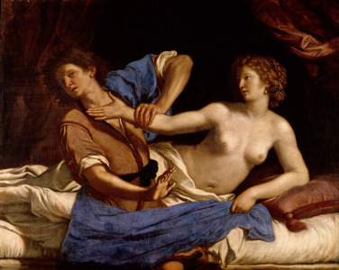 Picture no: 31000612 Joseph and the Wife of Potiphar, c.1649 Created by: Guercino, Giovanni Francesco Barbieri