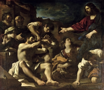 Picture no: 31000614 The Resurrection of Lazarus, c.1619 Created by: Guercino, Giovanni Francesco Barbieri